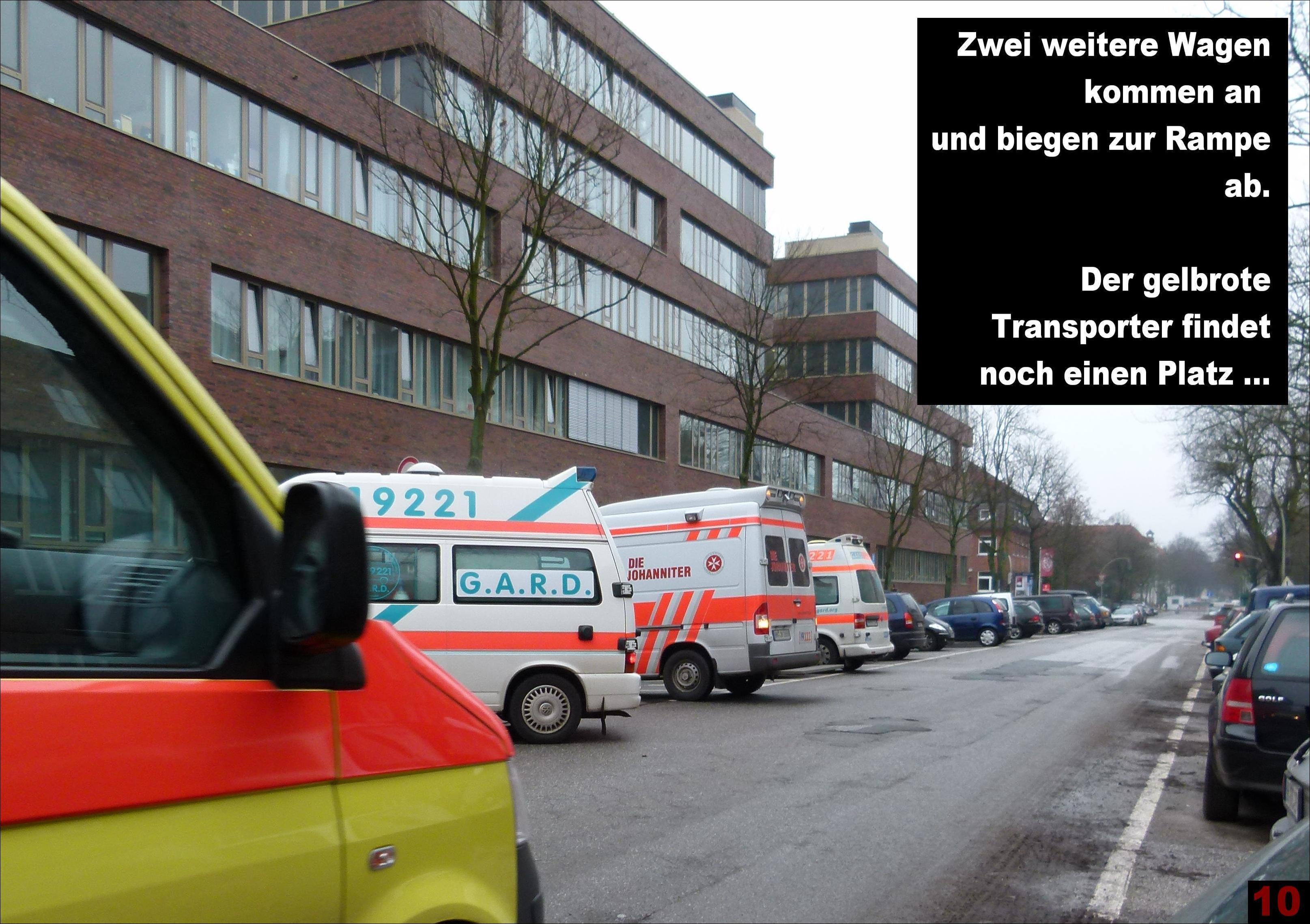 Liegendkrankenvorfahrt